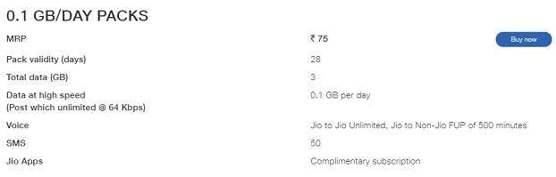jio removes rs 49 and rs 69 recharge plans