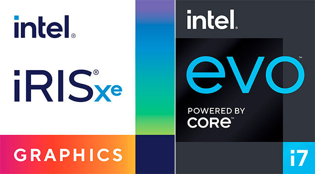 Intel Iris Xe graphics and Intel Evo brands revealed