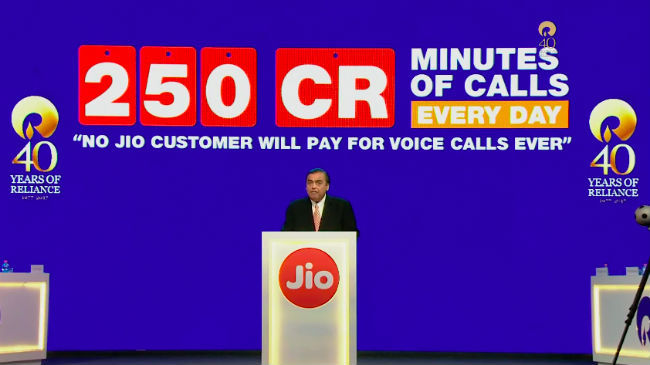 Quick Glance: Everything announced by Reliance Jio at the RIL AGM today