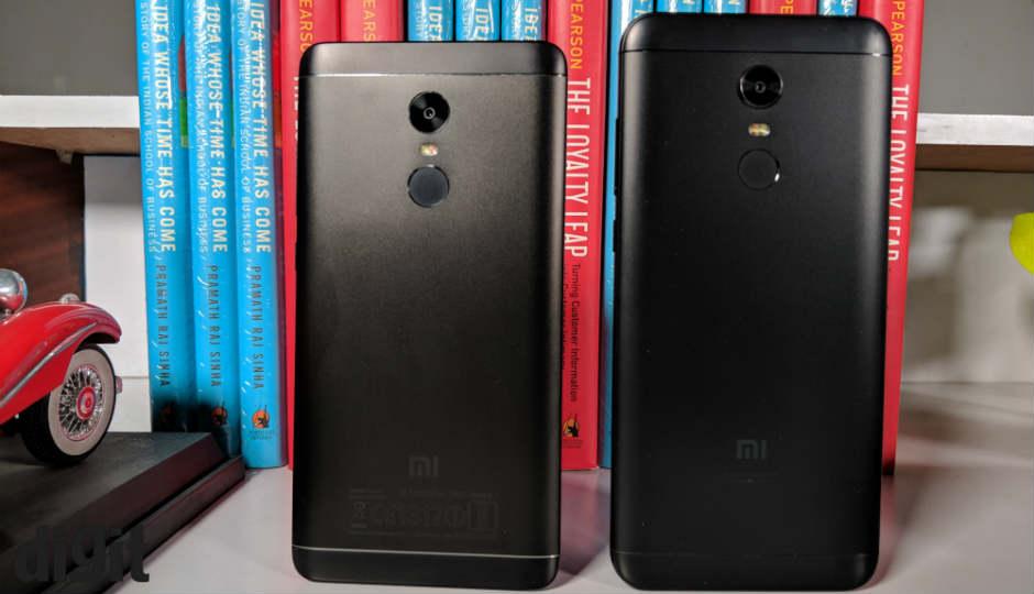 Xiaomi Redmi Note 5 Vs Redmi Note 4 What S Changed Digit In