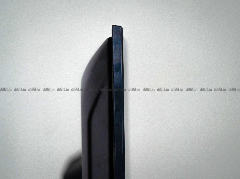 The Akai 43-inch FHD Fire TV Edition has a plastic shell.