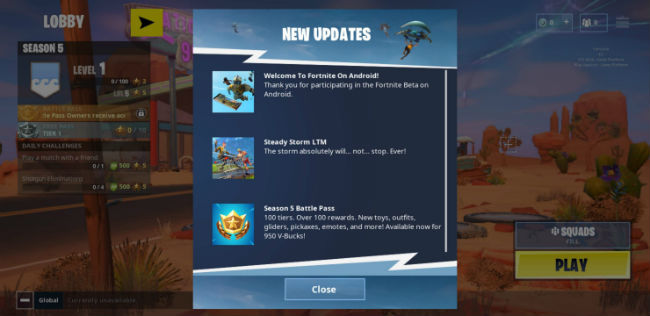 Fortnite on Android: How to download and play the game on