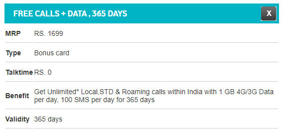 Vodafone introduces Rs 1699 recharge plan offering unlimited
