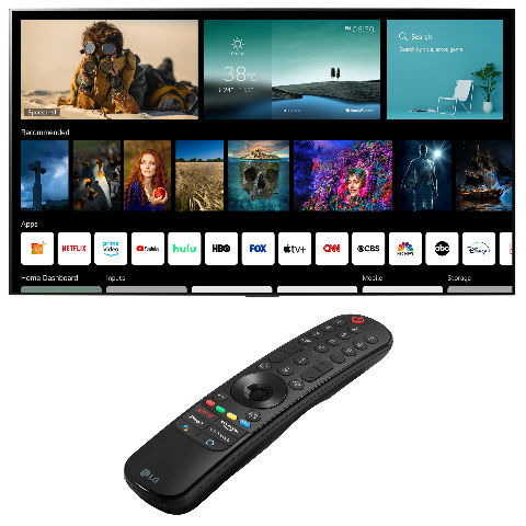LG Unveils WebOS 6 Smart TV platform and new Magic remote control at CES 2021