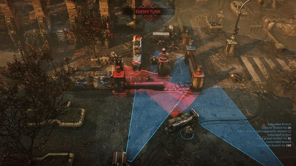 Gears Tactics brings overwatch to gameplay which adds to the game's dynamics