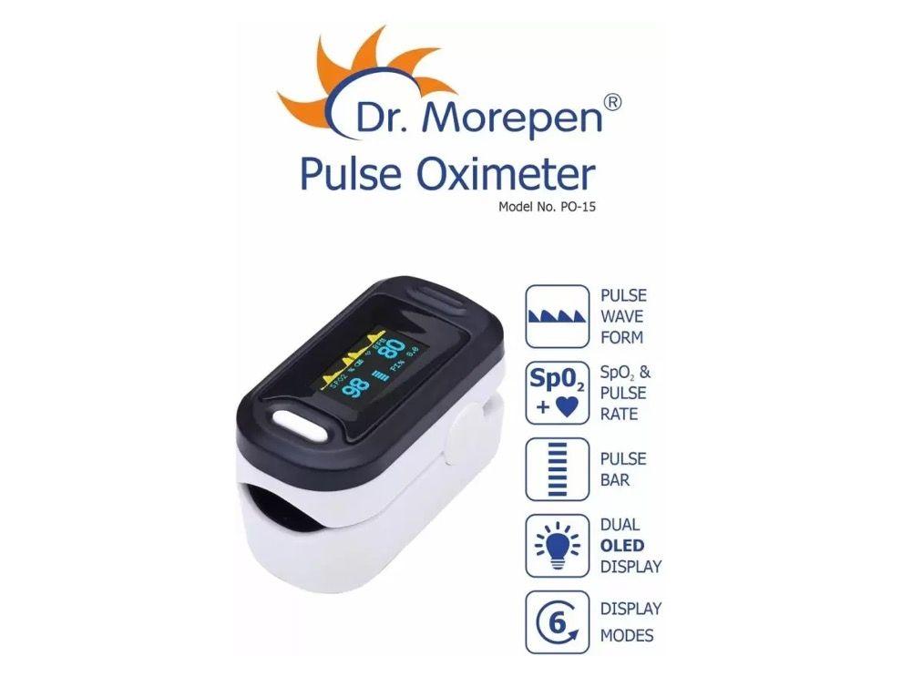 Dr Morepen PO-15 Pulse Oximeter features