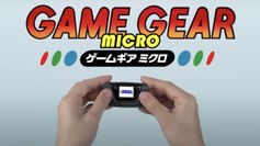 Sega Game Gear Micro is a new teeny-tiny version of the classic handheld