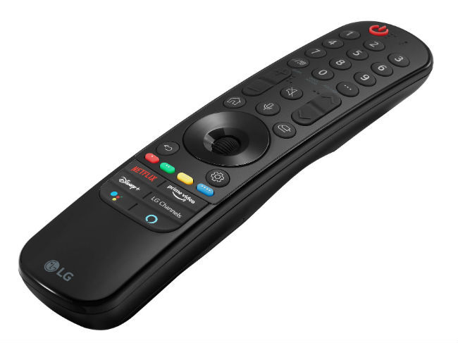 LG has redesigned the Magic Remote for their 2021 TVs.