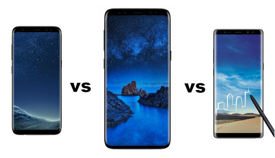 Samsung Galaxy S9 vs Galaxy S8 vs Galaxy Note 8 Spec comparison: Here�s what has changed