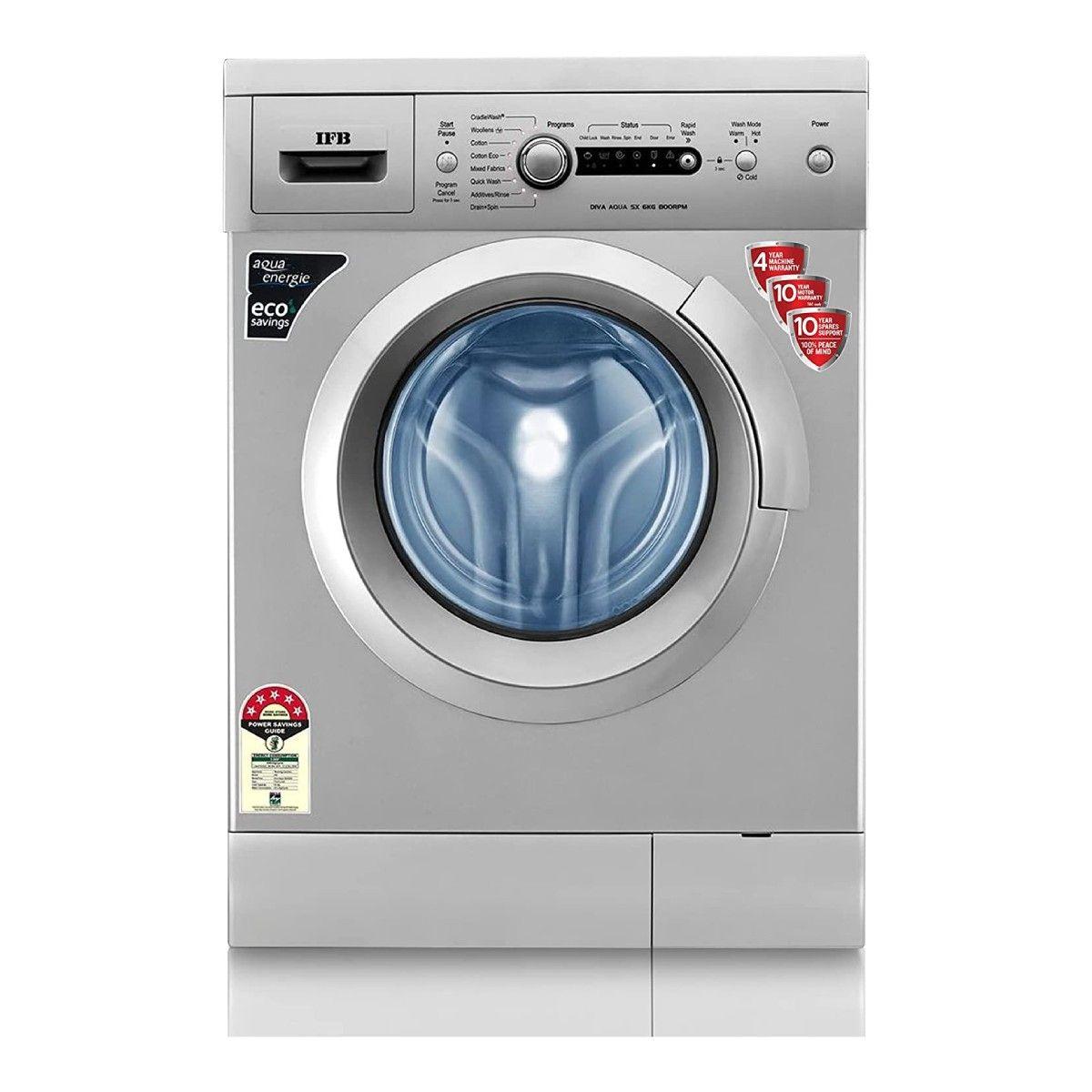 IFB 6kg 5 Star Fully Automatic Front-Loading Washing Machine (Diva Aqua SX)