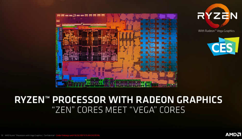 CES 2018: AMD announces more powerful CPUs, APUs and GPUs as part of its 2018 lineup