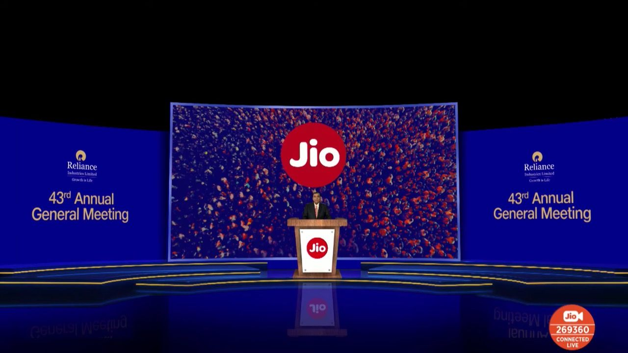Reliance Jio plans to launch 5G services in the second-half of 2021 in India