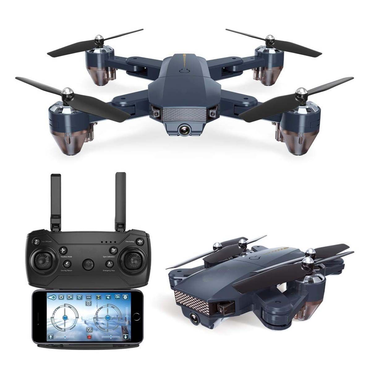 SUPER TOY RC Foldable Drone