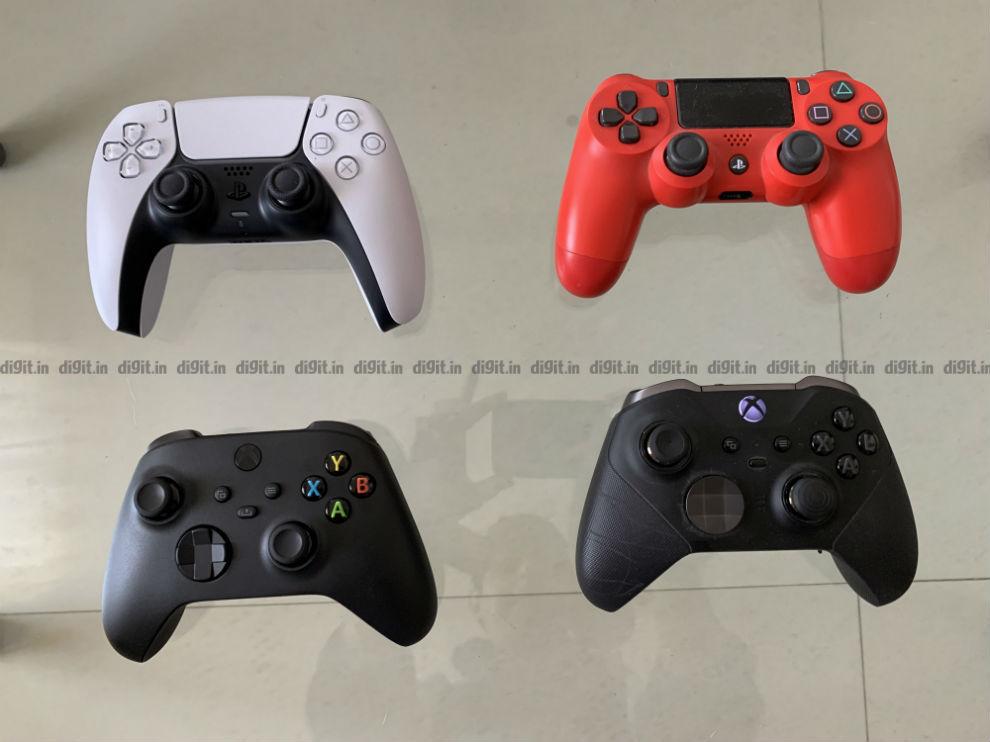 PS5 vs Xbox Series X: Controller