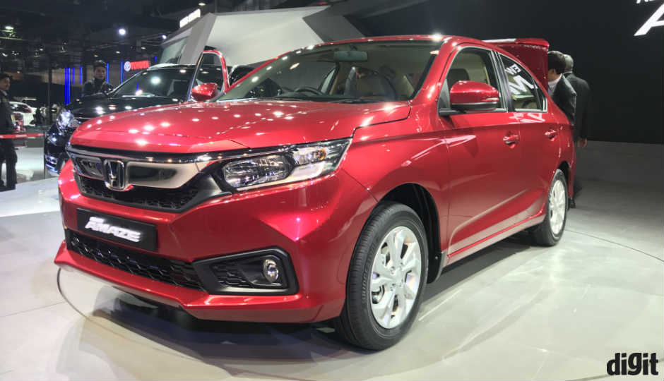 honda launches  amaze civic cr   india  auto expo  digitin