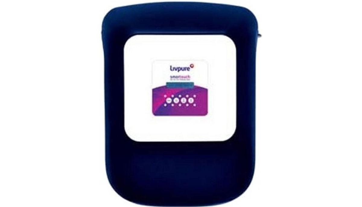 Livpure Smart Touch 8.5 L RO + UV +UF Water Purifier (Blue)