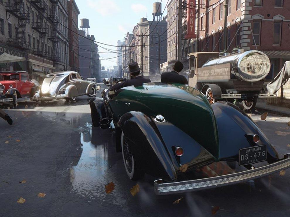 Mafia definitive edition driving