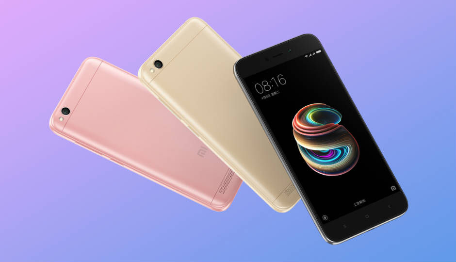 36f433867 Xiaomi Redmi 5A launched with 5-inch display