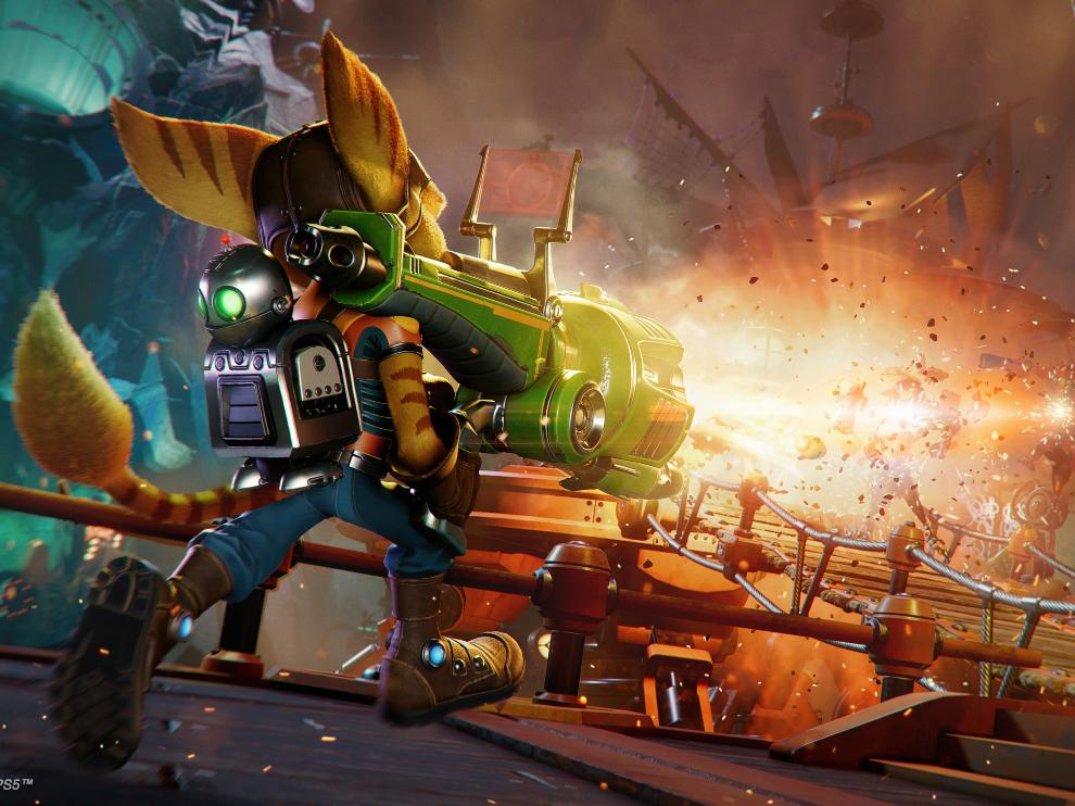 Ratchet and Clank offers a diverse set of arsenal to players.