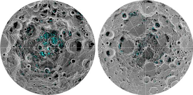 Why wasn't ice water discovered on the moon before?