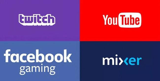 Facebook Gaming Twitch YouTube Gaming Mixer