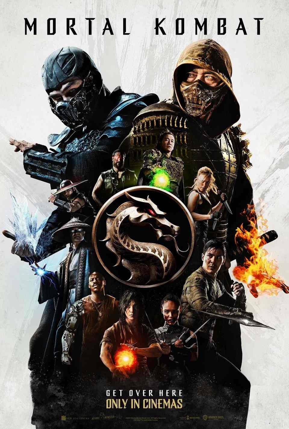 Mortal Kombat 2021 official poster