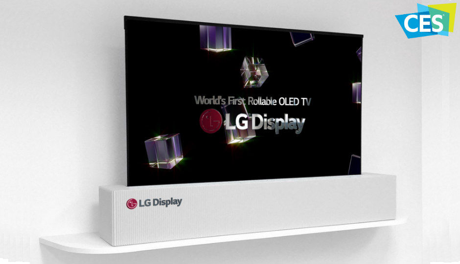 CES 2018: LG Display to showcase 65-inch UHD rollable OLED TV