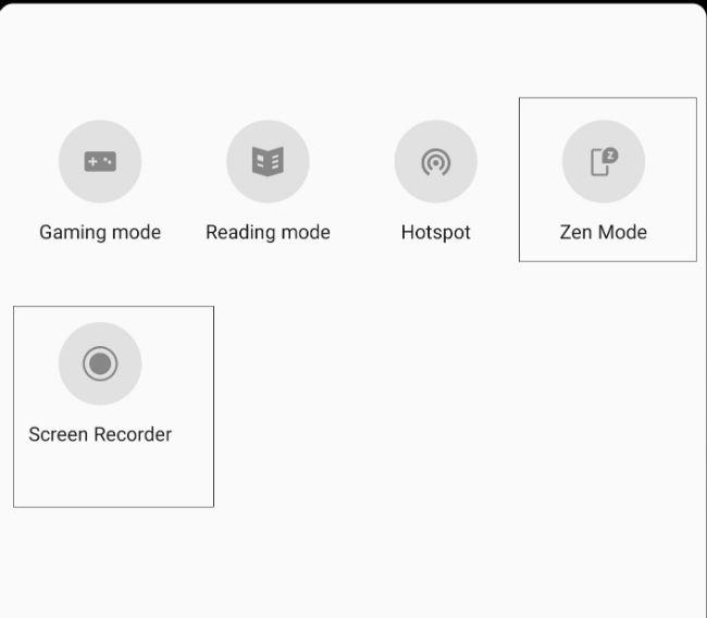 Zen Mode in OnePlus 7 Pro