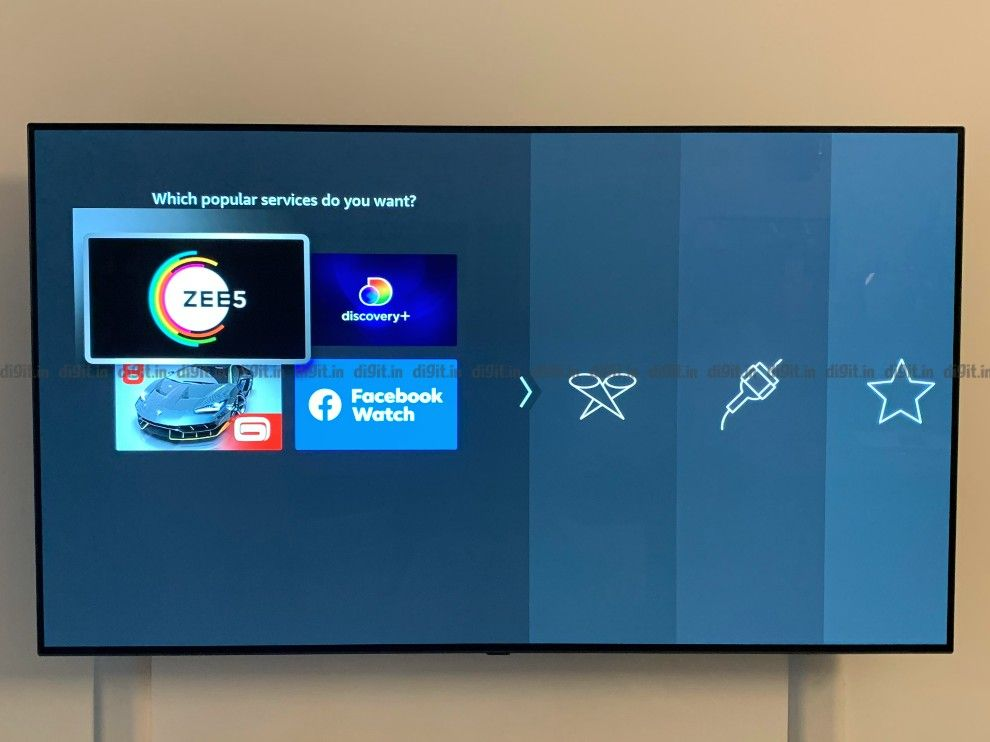 You can choose which apps to download on the Fire TV Cube.