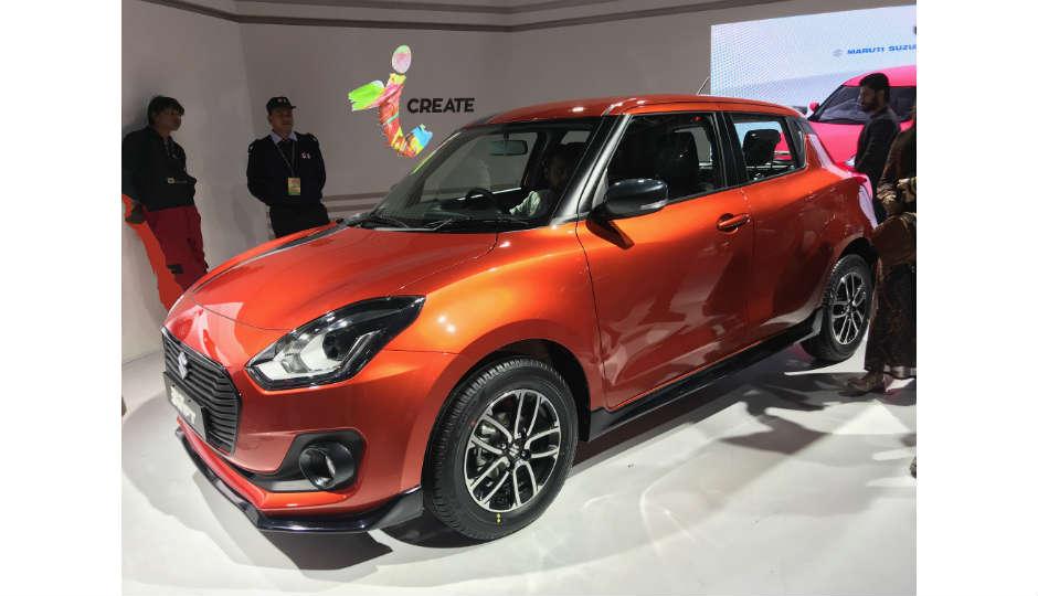 Auto Expo 2018 New Generation Maruti Suzuki Swift Launched In India
