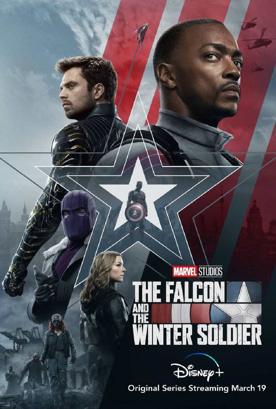 The Falcon and winter Soldier review