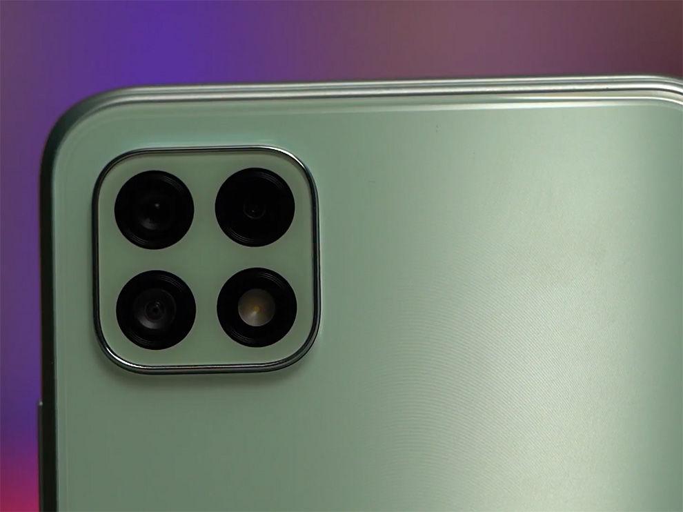 Samsung galaxy A22 5G gets 3 cameras.