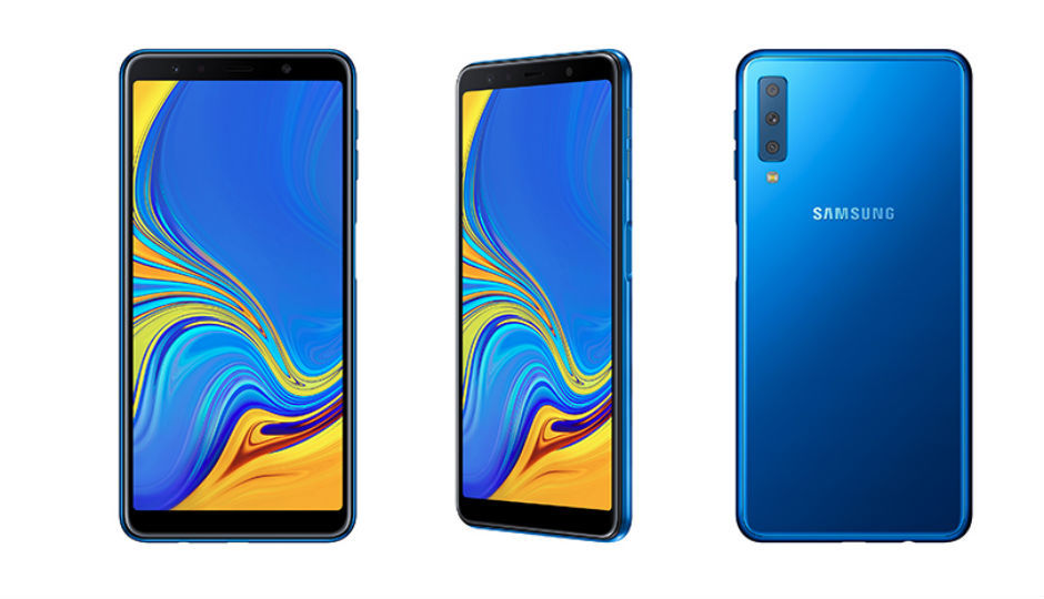 Samsung Galaxy A7 with triple rear cameras launching in India on September 25 thumbnail