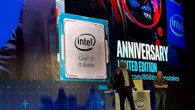 Intel Core i7-8086K Limited Edition launch at Computex 2018