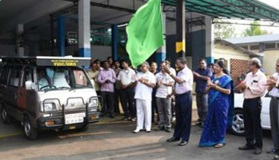 Isro Converts A Maruti Omni Into A Solar Hybrid Electric