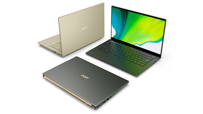 Acer Swift 5 Intel Tiger Lake Xe Graphics MX350 NVIDIA