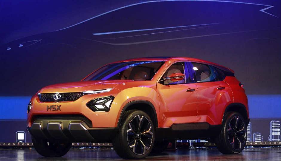 Tata announces H5X, 45X concept cars at Auto Expo 2018