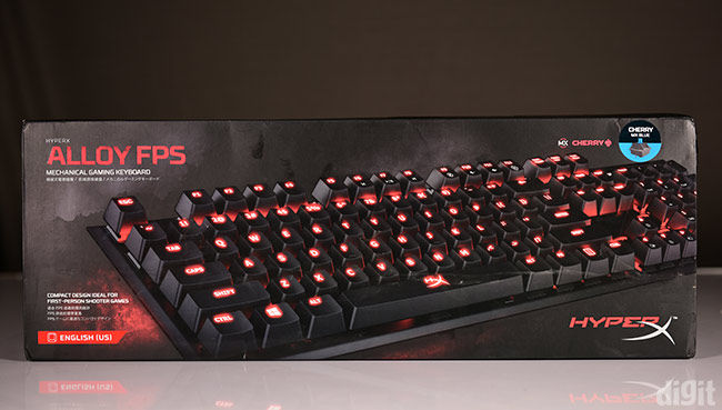 Kingston HyperX Alloy FPS box
