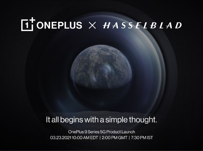 OnePlus 9 series launch details