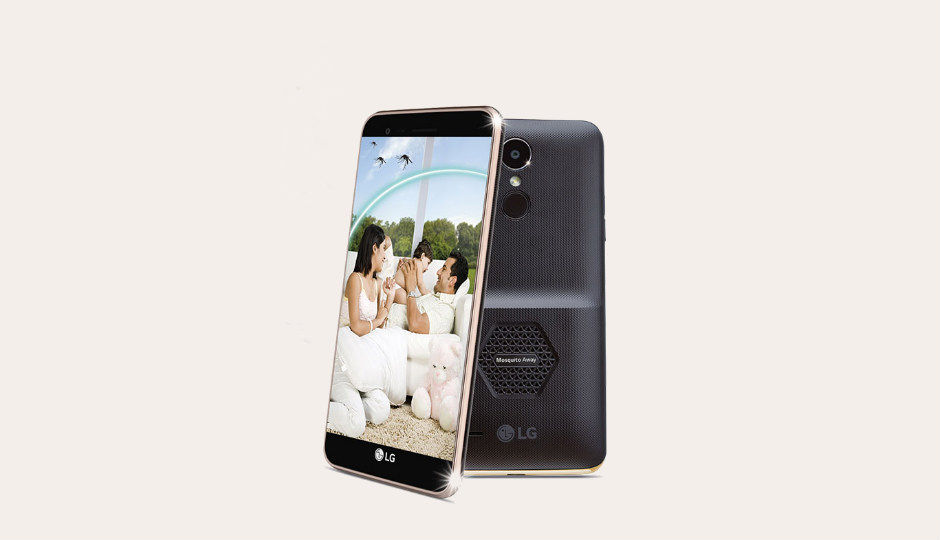 Image result for LG K7i With 'Mosquito Away' Technology unveiled in India at Rs 7,990