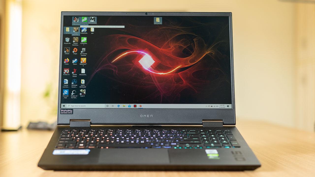 Beste gaming laptop op dit moment - HP Omen 15
