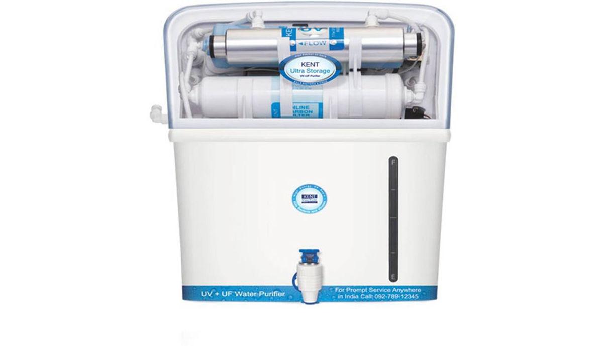Kent Ultra ஸ்டோரேஜ் 7 L UV + UF Water Purifier (White)