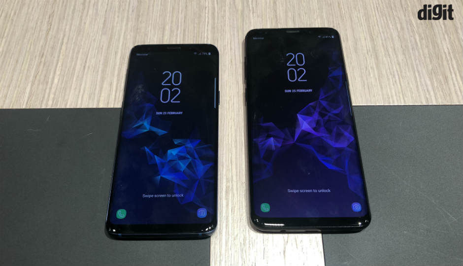 In Pictures: Samsung Galaxy S9, Galaxy S9+ at MWC 2018