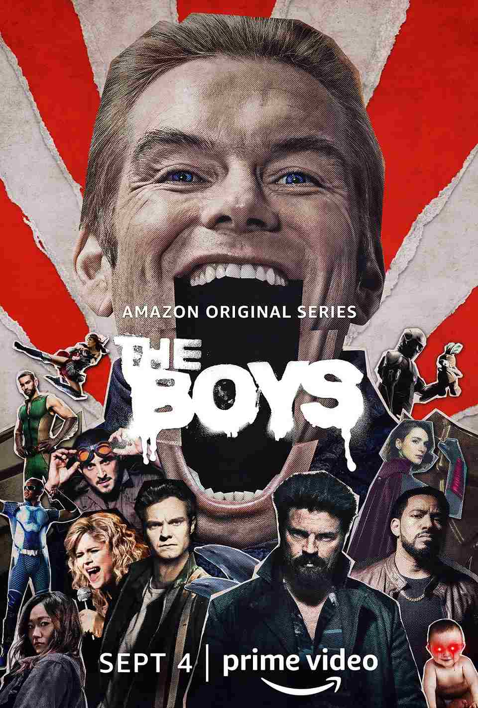 The Boys Season Two is premiering on Prime Video on September 4