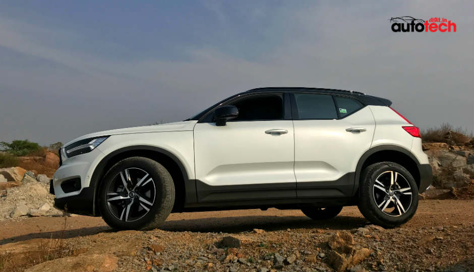 2018 volvo xc40 r design launched in india at rs 39 9 lac. Black Bedroom Furniture Sets. Home Design Ideas