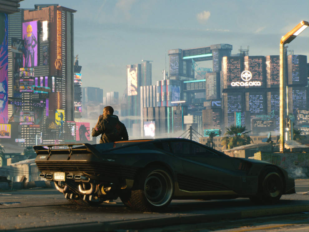 You have a large number of drivable vehicles in Cyberpunk 2077.