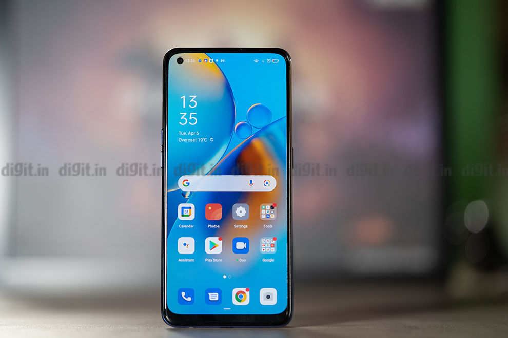 Oppo F19 Design and Display