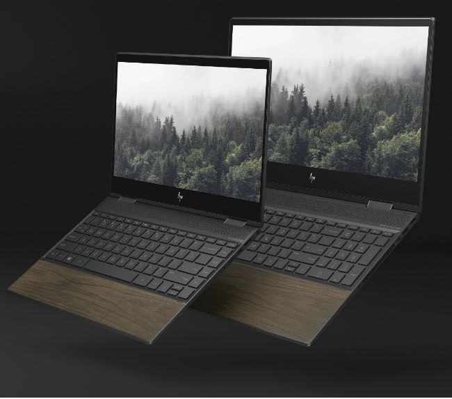 Computex 2019: HP Envy range now comes with wood paneling