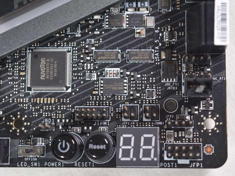 MSI MEG Z490 Ace Intel Comet Lake Motherboard Front Panel Connectors