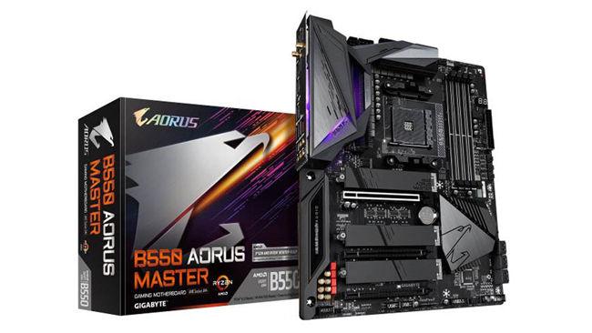 GIGABYTE AORUS AMD B550 MASTER Ryzen Motherboards